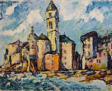 Ruben GROSMAN (1914-2010) HsT Playa Années 70 / Expressionnisme / Expressionnism