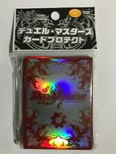 Duel Masters Card Sleeves 42 Fire Civilization & 13 Clear Sleeve SEALED Japanese