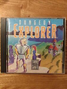 Dungeon Explorer (TurboGrafx-16, 1989) Original case & Instruction Manual