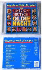DIE GROSSE DEUTSCHE OLDIE-NACHT Udo Jürgens, Adamo, Peggy March, Lords.. DO-CD