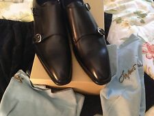 Stefano Branchini HAND MADE IN ITALY Shoes double monk size 111/2 US EU 101/2
