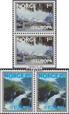 Norwegen 742Do/Du-743Dl/Dr Paare (kompl.Ausg.) gestempelt 1977 Europa