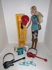 Hannah Montana Rockin' School Days Locker & Popstar Doll + Accessories Set
