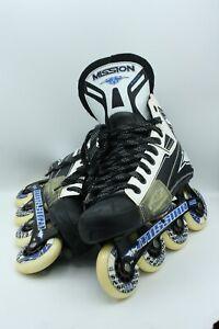 Mission Inline Hockey Skates Hi-Lo Vanguard HGX Men's US Size 9 E EU 43