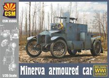 Copper State Models 1/35 Belgian Wwi Minerva Armored Car