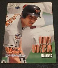 BRADY ANDERSON 1998 Sports Illustrated EXTRA EDITION World Series Fever SN#d /98