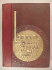 Lambeth Method of Cake Decoration - 1950 ~~ 2nd Edition ~~ Joseph Lambeth