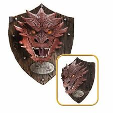 THE HOBBIT THE FIGURE SMAUG 80X65 CM HEAD HEAD RESIN RESIN TROPHY TROPHY DRAGON
