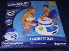 Bestway Coolerz Inflatable Floating Cooler Pool Cup Beer Drink Holder New