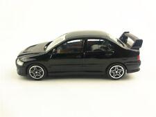 Mitsubishi Lancer EVO Black Diecast Car Model 1:43