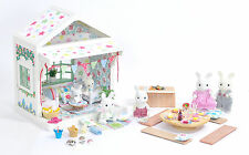*fistuff* Sylvanian Families Decorated Beach House/Cabin Family BBQ Set + Lots