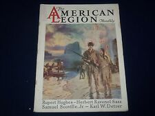 1927 JULY THE AMERICAN LEGION MAGAZINE - GREAT COVER & PHOTOS - BO 46