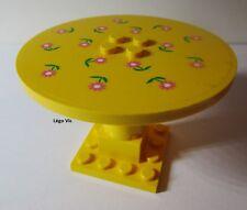 Lego Belville 6177 Yellow Table Jaune stickers du 5890 Pretty Playhouse MOC