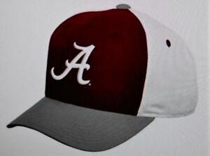 New Licensed Alabama Crimson Tide Colorblock YOUTH Size Adjustable Hat B122
