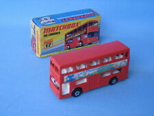 Matchbox SF-17 Londoner Bus Chambourcy Rare and Boxed