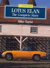 LOTUS ELAN COUPE CABRIO +2 RACING-The Complete Story-Libro