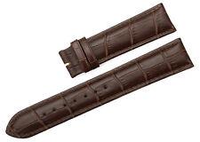 12-24mm Crocodile Grain Genuine Calf Leather Strap Watch Band For Tissot Mens