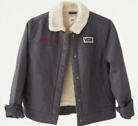 NEW Women's/Juniors VANS Sherpa Oil Change Jacket Size M Cropped Fit MSRP $89.50