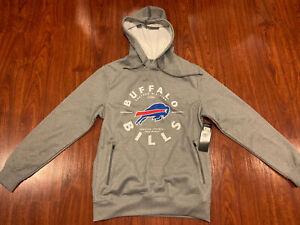 NFL Men��s Buffalo Bills Gray AFC East Hoodie Sweatshirt Small S Football