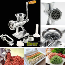 Manual Meat Grinder & Sausage Stuffer Meat Grinder Mincer Pasta Maker Crank