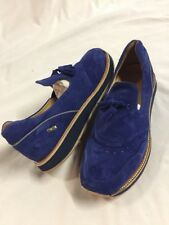 Freeman Plat EASY JOGGER BLUE  Men's Leather SHOES SNEAKERS  Size 10 EUR 43
