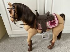 More details for 🌸  our generation doll horse - posable morgan horse 🌸