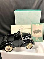Kiddie Car Classics Black 1937 Garton Ford NIB Luxury Edition HallmarkQHG9035