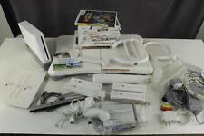 Lot Nintendo Wii Game System Bundle Games Accessories Fit Plus Board Zelda Sport
