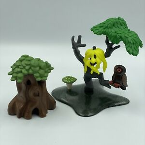 PLAYMOBIL - SPOOKY TREES - OWL - HALLOWEEN NIGHT WALK SET #9156 - Incomplete