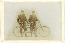 Photo Vélocipède Tandem Vélo Bike Vers 1880/90