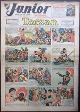 JUNIOR Le Journal de Tarzan fascicule n°196 du 28 décembre 1939 Bon état