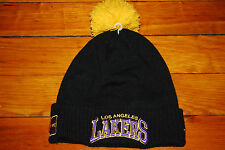 NEW Los Angeles Lakers NBA Beanie Skull Hat by New Era