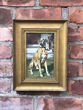 British Portrature Artist Alfred Egerton Cooper. Portrait Of A Great Dane Dog.