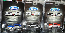 greenlight 1991 ford mustang gt 5.0 set lot of 3 exclusives 1/64 scale release 2