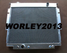 3 rows aluminum radiator for Ford F250 F350 V8 Diesel 6.9 7.3 1983-1994