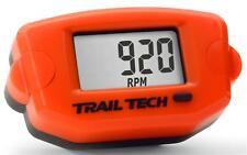 NEW TRAIL TECH ORANGE TTO TACH / HOUR METER MX ATV HOURMETER MOTORCYCLE UTV