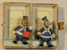 Teddy B and G The Roosevelt Bears with Suit Case