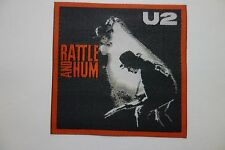 U2 Rattle & Hum    woven PATCH IRON- ON,  OR SEW