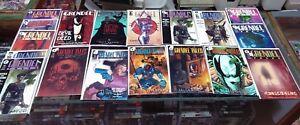 18 Comic Books GRENDEL / all signed by Matt Wagner - complete runs