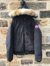 Mens Canada Goose Borden Bomber Jacket XXL Coat GENUINE £800 Parka Fur Black