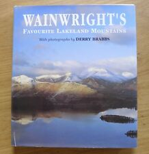 Wainwright's Favourite Lakeland Mountains by A. Wainwright Hardback