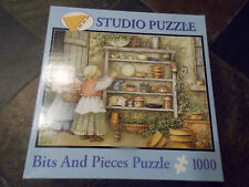 Bits and Pieces Potters Two 1000 Pc Puzzle 100% Complete GUC