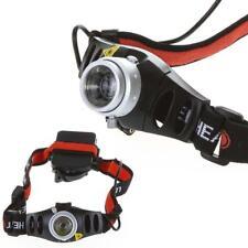 6000 LM Q5 LED Ultra Bright Zoomable Flashlight Headlamp Headlight AAA GA
