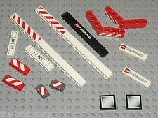 Lot de pieces + stickers LEGO TECHNIC for set 8071 Lift Truck / Autocollants