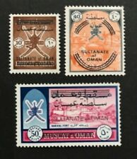 Oman,1971  #123,127 & 128, Mint Hinged, see images for more details!!