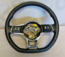 VOLKSWAGEN GOLF MK7 FLAT BOTTOM TYPE STEERING WHEEL WITH MULTI FUNCTION 12-18
