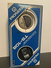 New listing Vtg Pioneer Ts-108 Flush Mont Speakers For Car Stereo 10 Cm 4in Coaxial two way