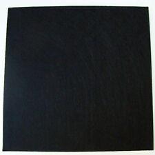 Feutrine NOIR plaque 29x29cm épaisse 3mm Feutre tissu DIY loisirs créatifs déco