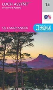 Landranger (15) Loch Assynt, Lochinver & Kylesku (OS Landranger Map) Da Ordnance