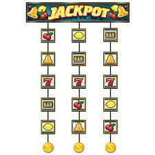 Casino Slot machine Stringer - 75 cm x 1.2 M-Casino Fête Pendaison Décoration